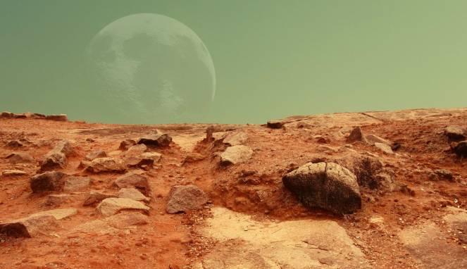 Air di Planet Mars Raib, Biangnya Ternyata Sistem Spons