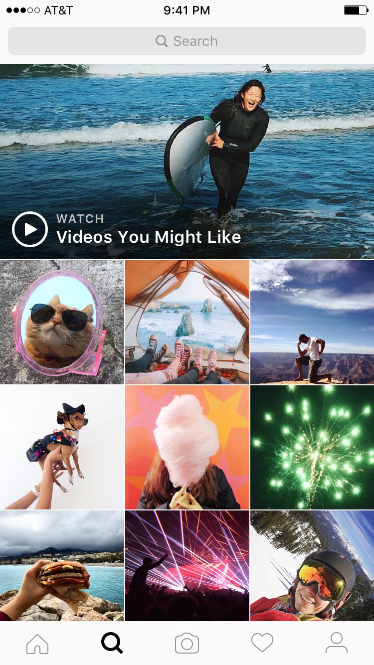 Dengan fitur Video Explore, Instagram kian mantap jadi platform video