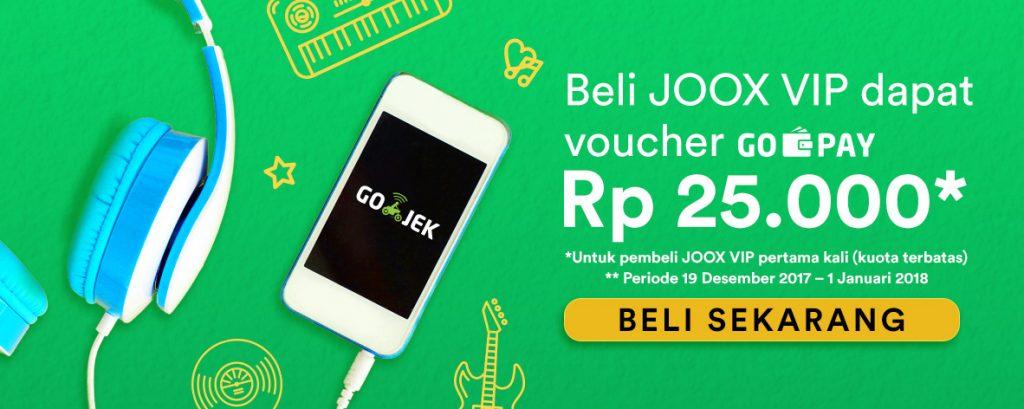 Go-Jek Tawarkan Tumpangan Gratis Bagi Pemakai Joox