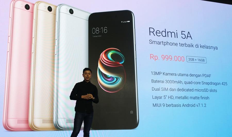 Inilah Spesifikasi Xiaomi Redmi 5A