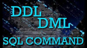 Pengertian DDL, DML dan SQL