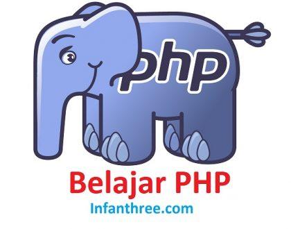 tutorial belajar PHP untuk pemula