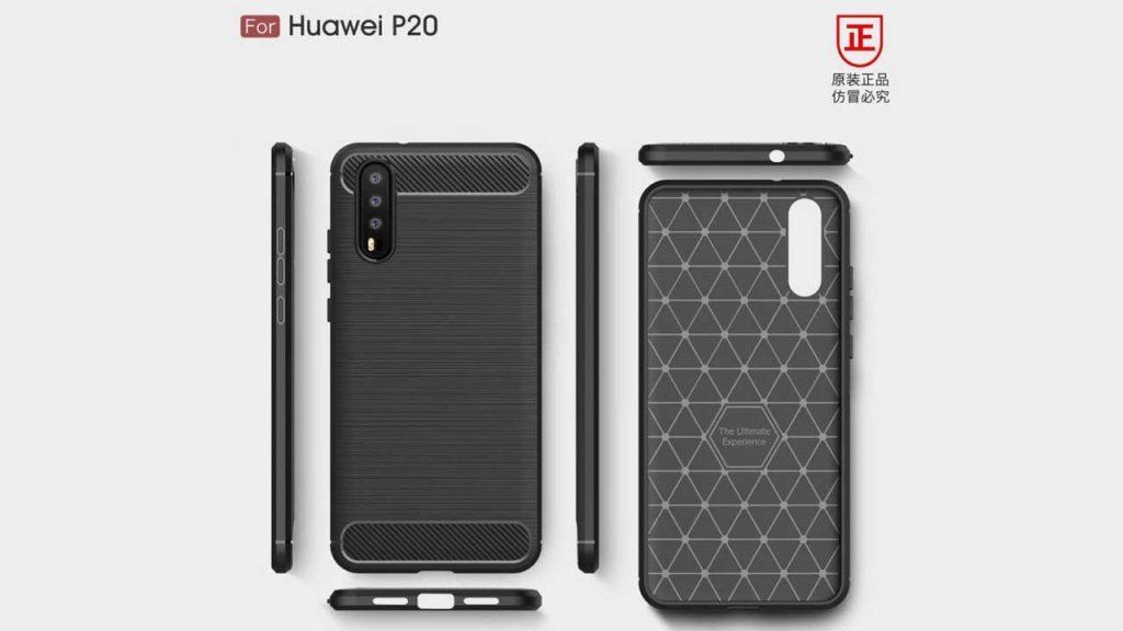 Bocoran Desain Huawei P20, Memiliki Tiga Kamera Utama di Belakang