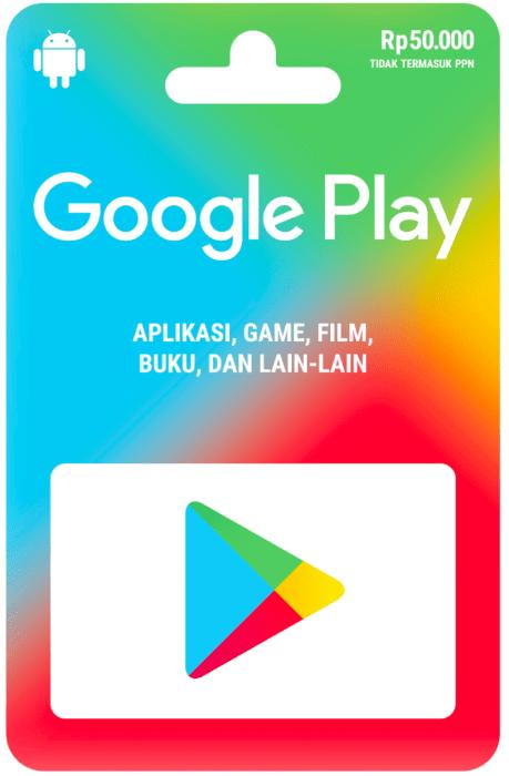 Jenis Nominal Baru dari Google Play Gift Card