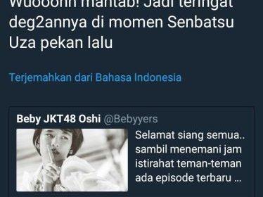 Akun Twitter Presiden Jokowi Ngetweet Soal JKT48, Bikin Netizen Bingung