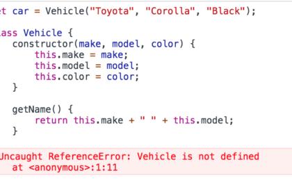 Cara Membuat Instance di Dalam Class Javascript
