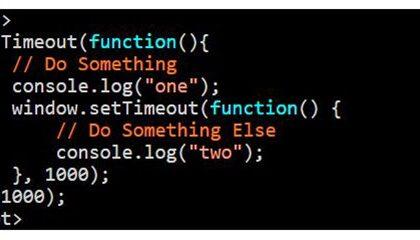 Cara Membuat Fungsi setTimeout didalam Javascript