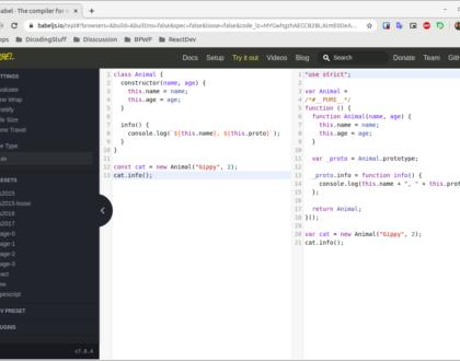 Belajar Babel Loader Javascript ES6
