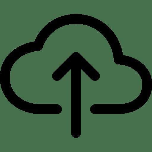 cloud upload outline Beranda